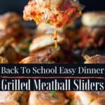 grilled meatball pin image with text