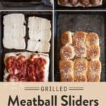 Grilled Meatball Sliders Pin