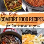 Comfort Food images pin for Pinterest