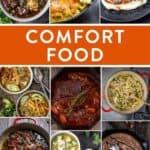 Comfort Food Round Up Pin