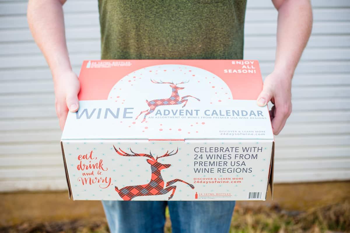 A wine advent calendar