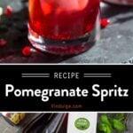 Pomegranate Ginger Spritz Pin