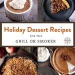 Holiday dessert round up pinterest pin