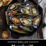 Grilled Mussels Pinterest Pin