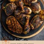 Jerk Grilled Chicken Pinterest PIn