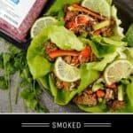 Taco Lettuce Wraps Pinterest Pin