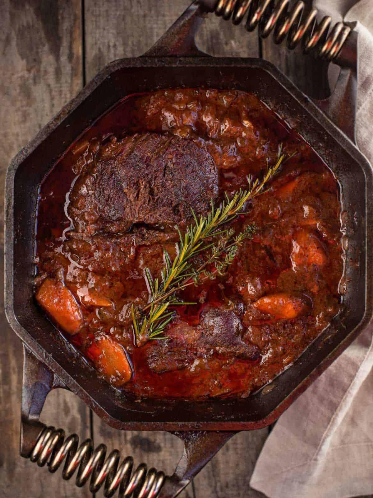 smoked chuck roast stew