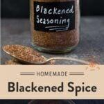 Blackened Seasoning Pinterest Pin