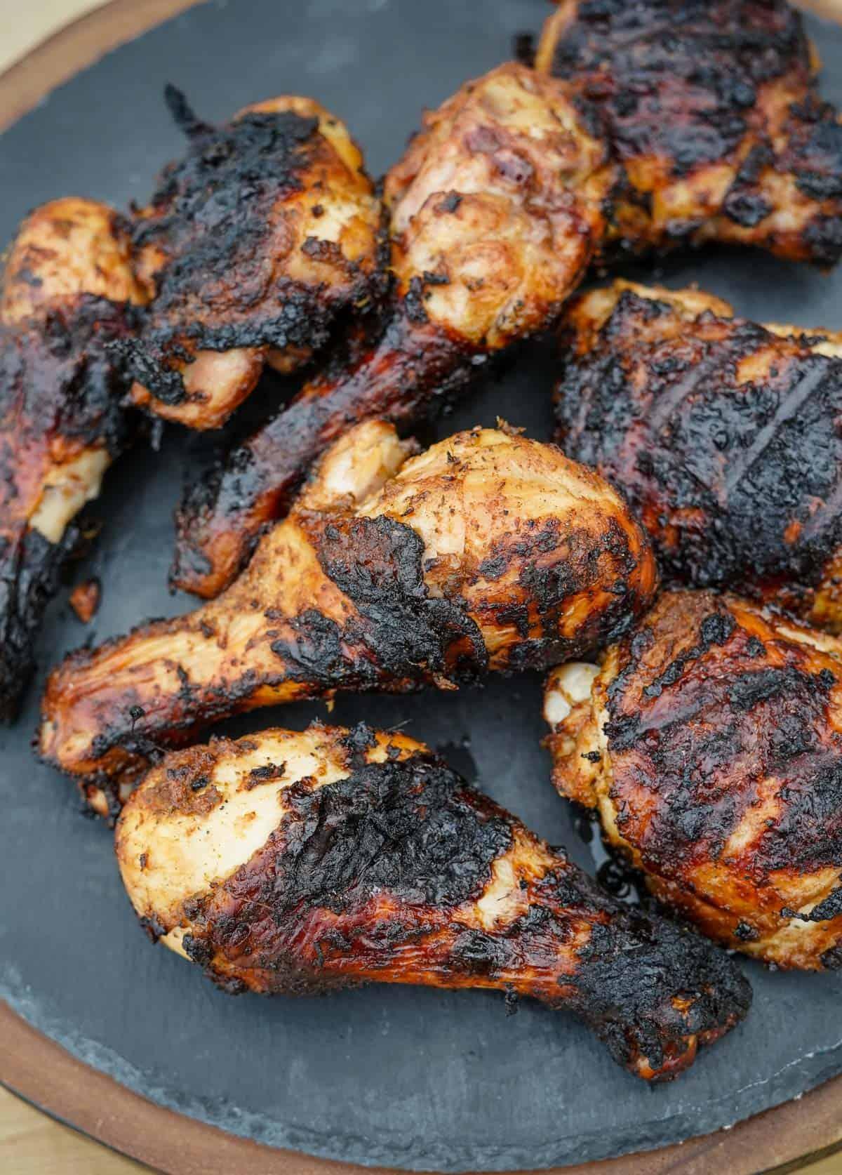 Jerk Chicken on a platter