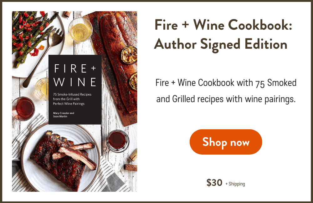 Fire and Wine Signed Edition Cookbook
