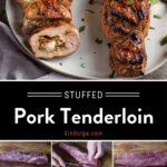Stuffed Pork Tenderloin Pinterest Pin