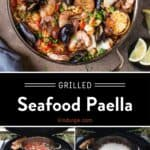 Seafood Paella Pinterest Pin