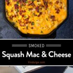 Squash Mac and Cheese Pinterest Pin