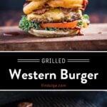 Western Burger Pinterest Pin