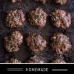 Breakfast Sausage Patties Pinterest Pin