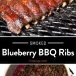blueberry Ribs pin