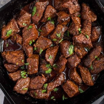 Grilled Steak Bites.