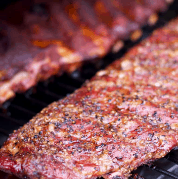 3-2-1 ribs on grill