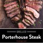 Grilled Porterhouse Steak PIn