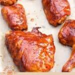 Glazed BBQ Chicken pin