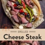Grilled Cheese Steak Pin