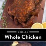 Pellet Grill Chicken Pin