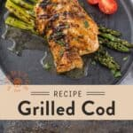 Grilled Cod Pin