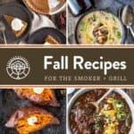 Fall Recipe Round-Up Pin