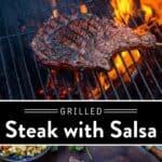 Poblano Salsa Steak