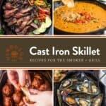 Cast Iron Skillet Recipes Pin